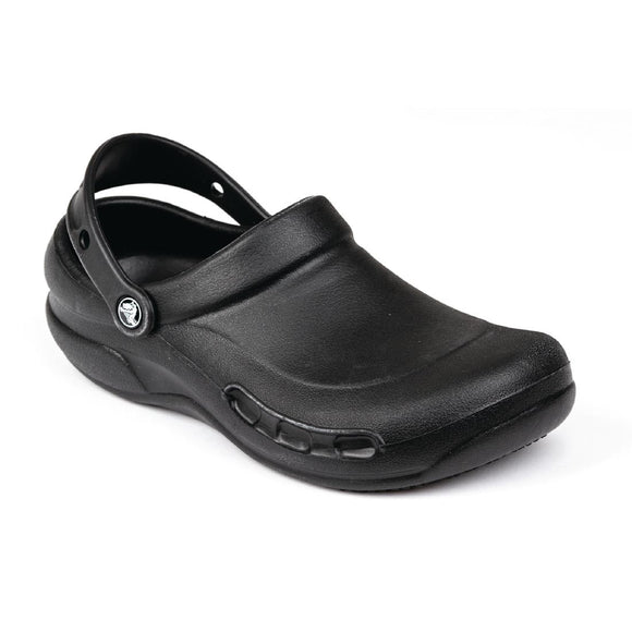 Click N Order photo of a Crocs Black Bistro Clogs 45.5