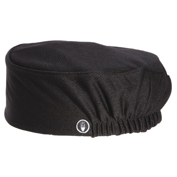 Click N Order photo of a Chef Works Total Vent Beanie Black
