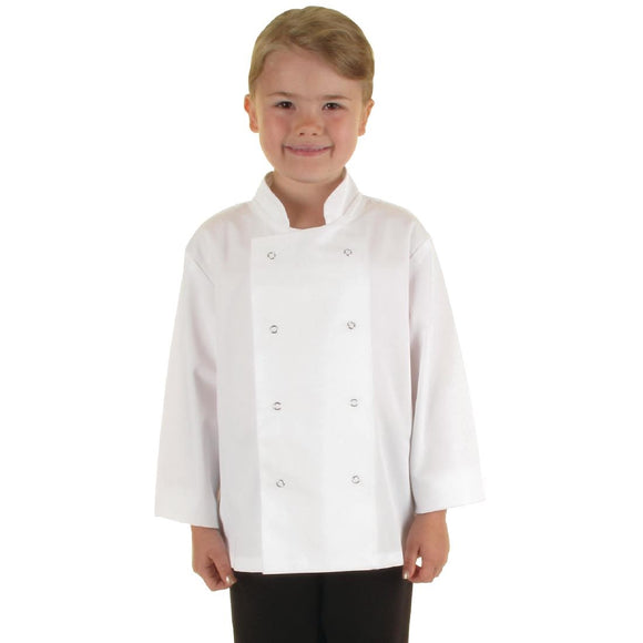 Click N Order photo of a Whites Childrens Unisex Chef Jacket White L