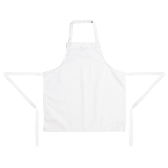Click N Order photo of a Whites Childrens Bib Apron White