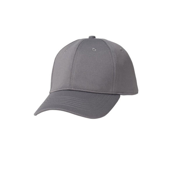 Click N Order photo of a Chef Works Cool Vent Baseball Cap Grey