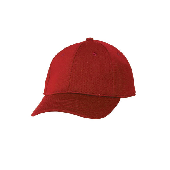 Click N Order photo of a Chef Works Cool Vent Baseball Cap Red