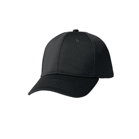 Click N Order photo of a Chef Works Cool Vent Baseball Cap Black