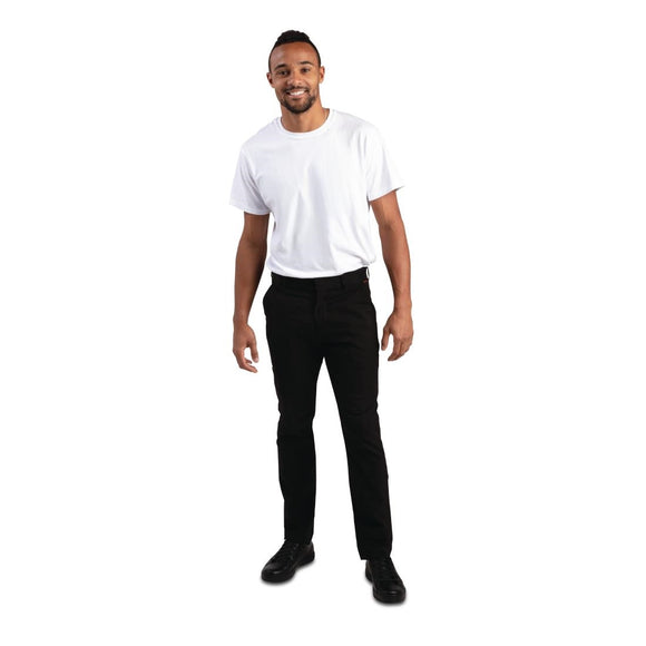 Click N Order photo of a Stretch Slim Chino Trouser Black 30