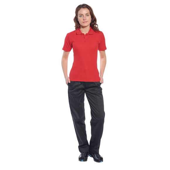 Click N Order photo of a Ladies Polo Shirt Red XS