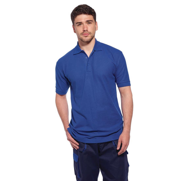 Click N Order photo of a Ladies Polo Shirt Royal Blue M