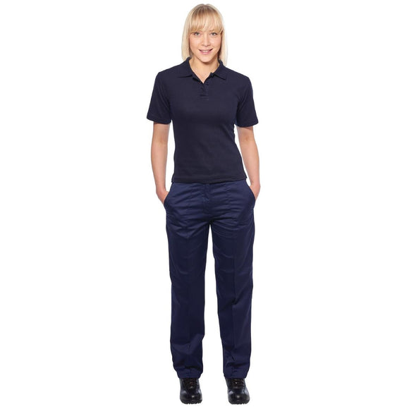 Click N Order photo of a Ladies Polo Navy Blue XL