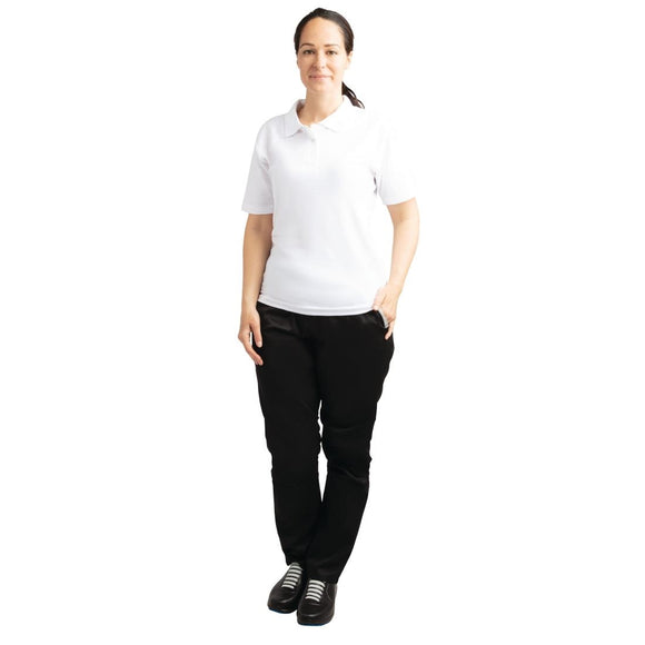 Click N Order photo of a Ladies Polo Shirt White L