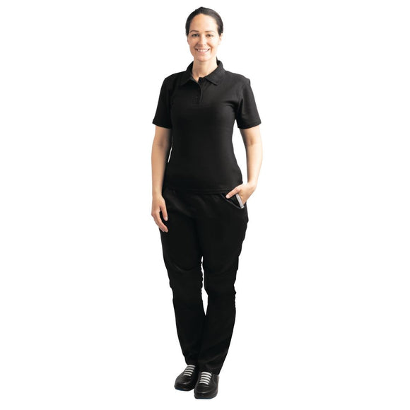 Click N Order photo of a Ladies Polo Shirt Black L