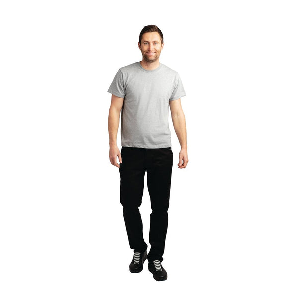 Click N Order photo of a Classic T Shirt Heather Grey 4XL