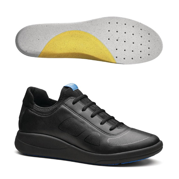 Click N Order photo of a WearerTech Transform Trainer Black with Soft Insoles Size 39-40