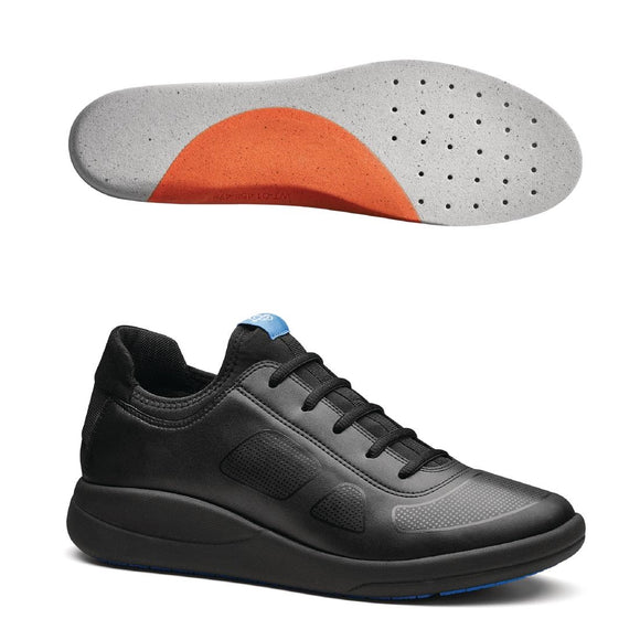 Click N Order photo of a WearerTech Transform Trainer Black with Firm Insoles Size 39-40