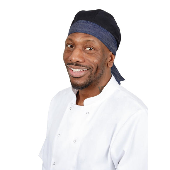 Click N Order photo of a Whites Southside Chef Bandana Denim and Black