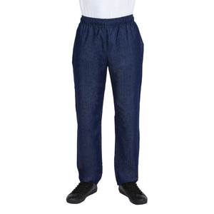Click N Order photo of a Whites NY Denim Chef Trousers S