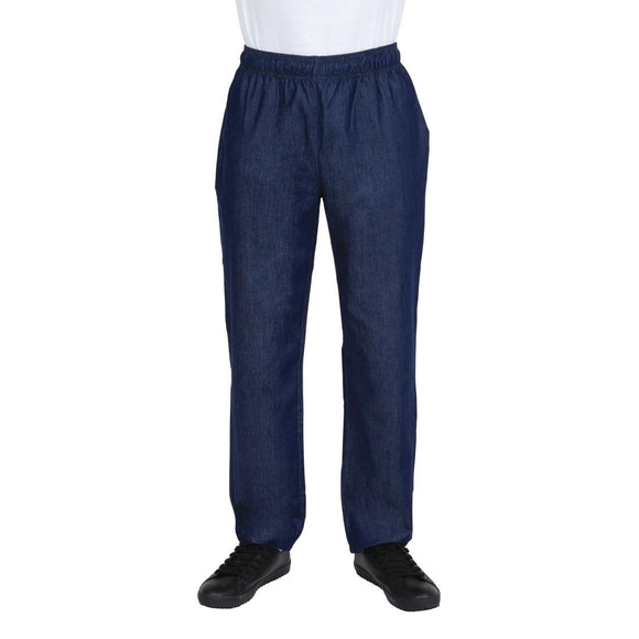 Click N Order photo of a Whites NY Denim Chef Trousers XS