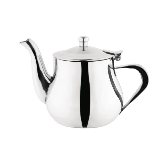 Click N Order photo of a Olympia Arabian Stainless Steel Teapot 400ml