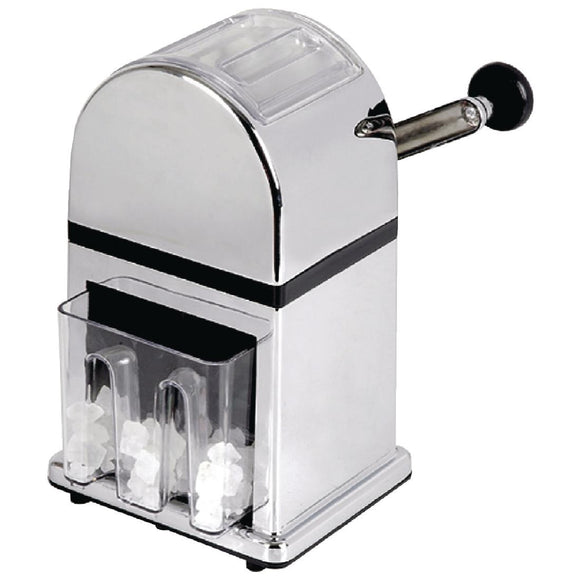Click N Order photo of a Olympia Manual Ice Crusher Chrome Effect