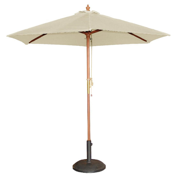 Click N Order photo of a Bolero Round Parasol 2.5m Diameter Cream