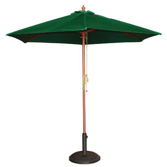 Click N Order photo of a Bolero Round Parasol 3m Diameter Green