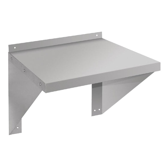 Click N Order photo of a Vogue Stainless Steel Microwave Shelf Large