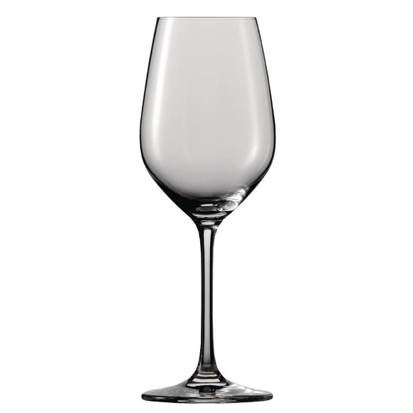 Click N Order photo of a Schott Zwiesel Vina Crystal White Wine Goblets 279ml (Pack of 6)
