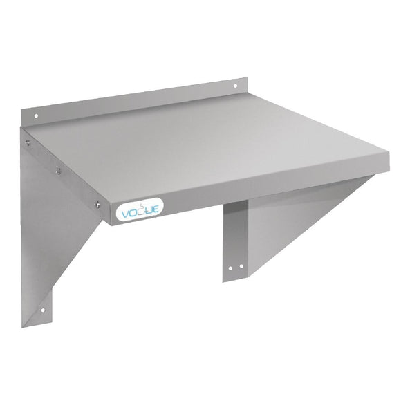 Click N Order photo of a Vogue Stainless Steel Microwave Shelf