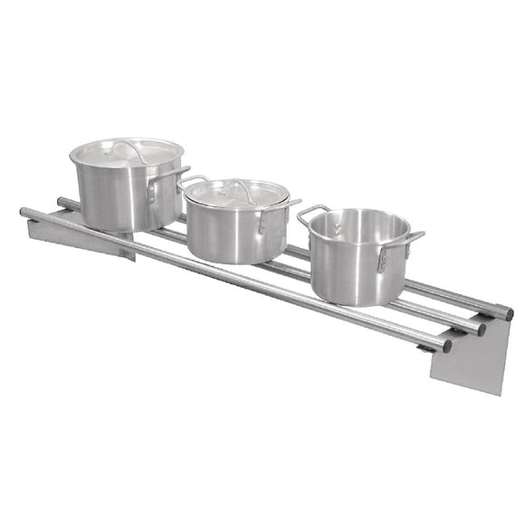 Click N Order photo of a Vogue Stainless Steel Wall Shelf 1200mm