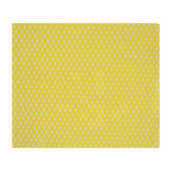 Click N Order photo of a Jantex Solonet Cloths Yellow (Pack of 50)