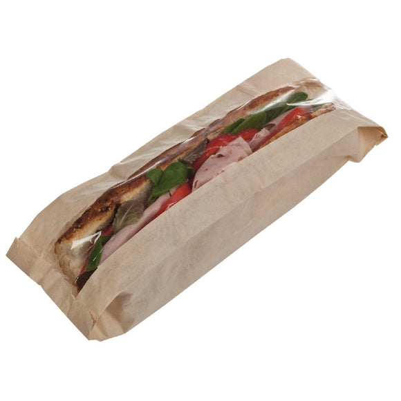 Click N Order photo of a Recyclable Paper Baguette Bags (Pack of 1000)