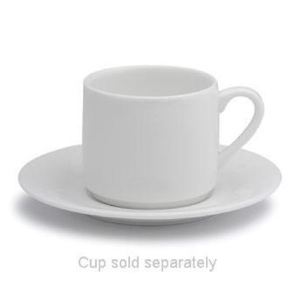 Click N Order photo of a Elia Glacier Fine China Espresso Cup Saucers 115mm (Pack of 6)
