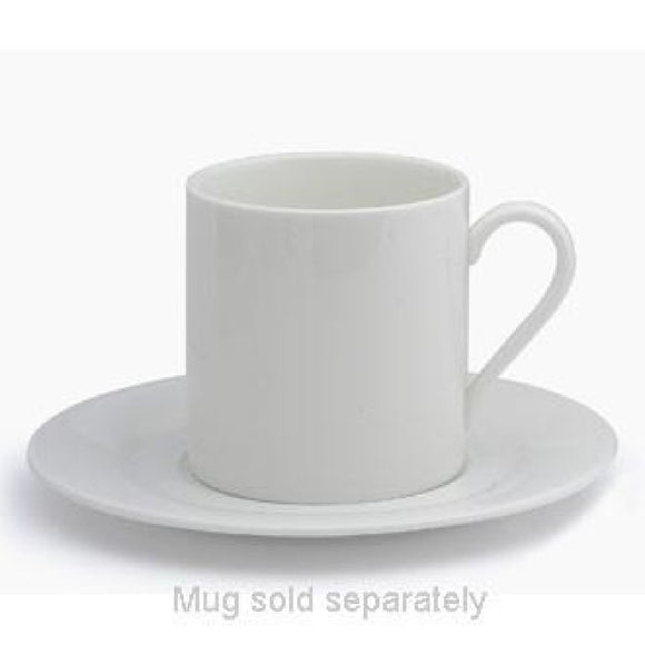 Click N Order photo of a Elia Glacier Fine China Mug Saucers 155mm (Pack of 6)