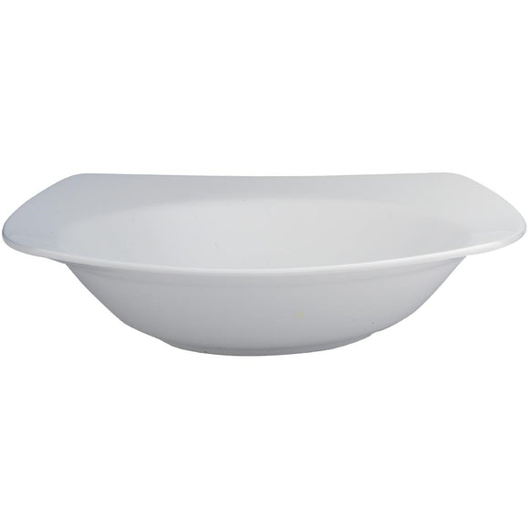 Click N Order photo of a Elia Glacier Fine China Rimmed Pasta Bowls 250mm (Pack of 6)