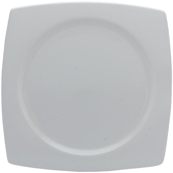 Click N Order photo of a Elia Glacier Fine China Square Plates 260mm (Pack of 6)