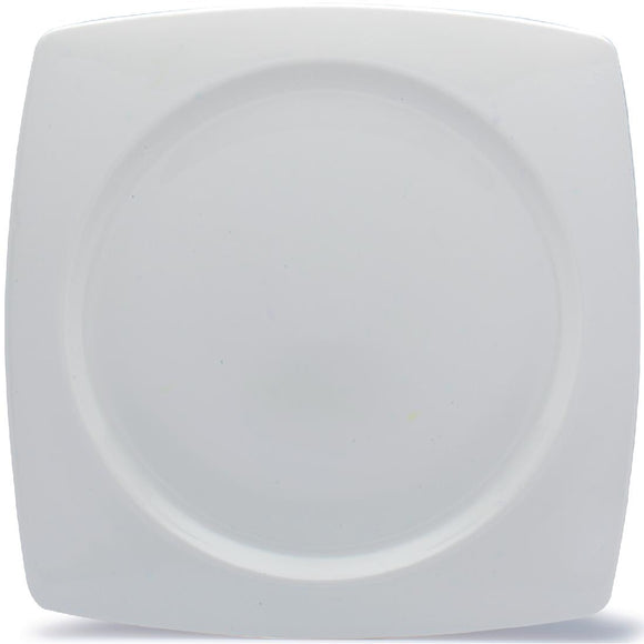 Click N Order photo of a Elia Glacier Fine China Square Plates 310mm (Pack of 4)