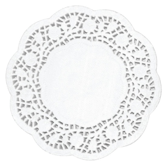 Click N Order photo of a Fiesta Round Paper Doilies 165mm (Pack of 250)
