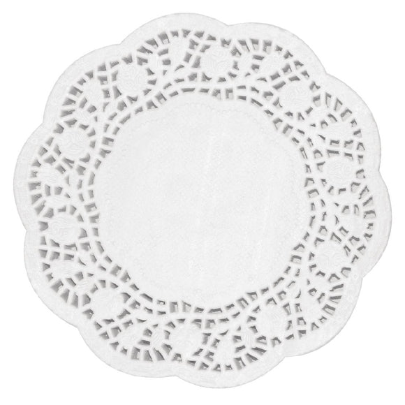 Click N Order photo of a Fiesta Round Paper Doilies 300mm (Pack of 250)
