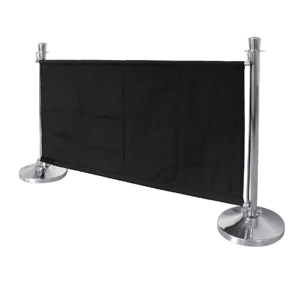 Click N Order photo of a Bolero Black Canvas Barrier