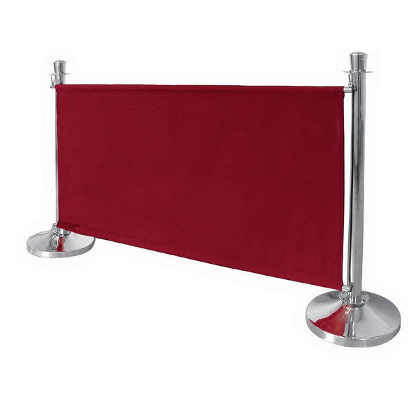 Click N Order photo of a Bolero Red Canvas Barrier