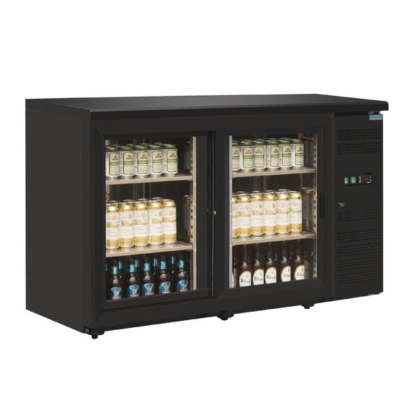 Click N Order photo of a Polar U-Series Double Door Back Bar Display Cooler