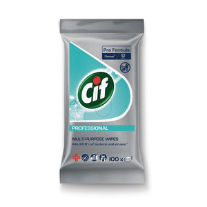 Click N Order photo of a CIF Pro Formula Multi-Purpose Disinfectant Wipes (100 Pack)