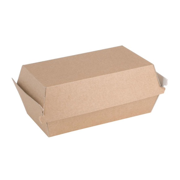 Click N Order photo of a Fiesta Green Compostable Kraft Food Boxes Small 172mm (Pack of 200)