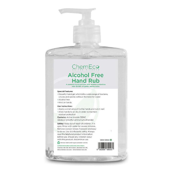 Click N Order photo of a Alcohol Free Hand Sanitiser 500ml
