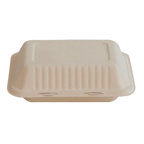 Click N Order photo of a Eco-Fibre Compostable Wheat Food Boxes Large (Pack of 250)