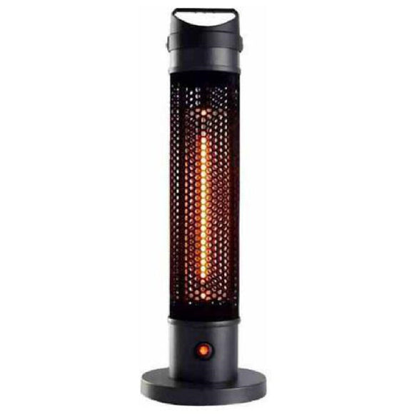 Click N Order photo of a Herschel Havana Portable Electric Patio Heater Black 800w