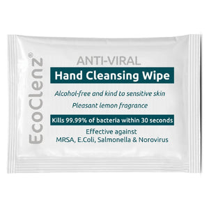 Click N Order photo of a EcoTech Anti-Viral Hand Cleansing Wipes Sachets (Box 1000)