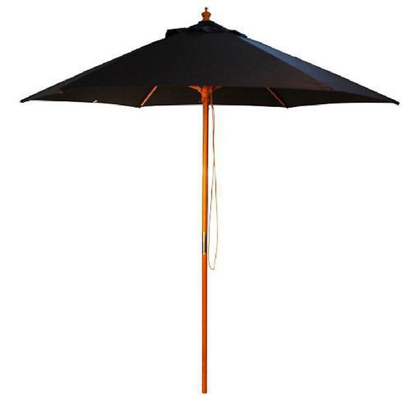 Click N Order photo of a Cheltenham Round Parasol 2.5m Diameter Black