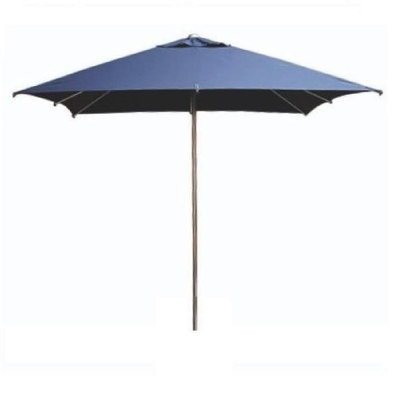 Click N Order photo of a Eden Milan Square Parasol 2.5 x 2.5m Blue