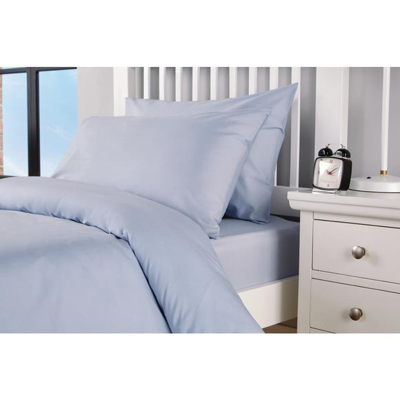 Click N Order photo of a Mitre Essentials Spectrum Housewife Pillowcase Blue
