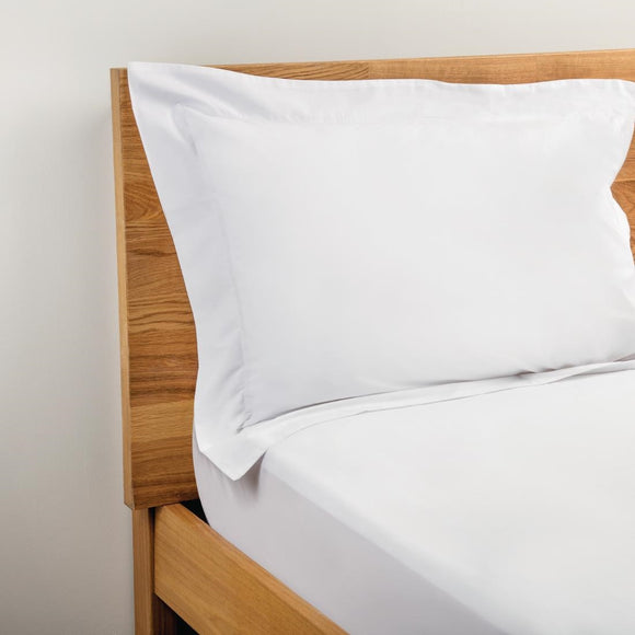 Click N Order photo of a Mitre Comfort Percale Oxford Pillowcase White