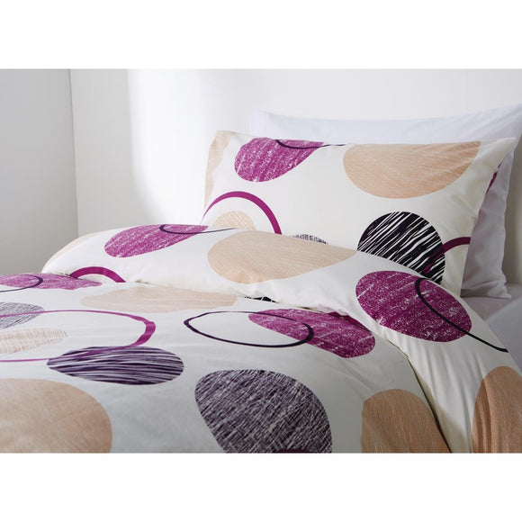 Click N Order photo of a Mitre Essentials Eclipse Pillowcase Purple